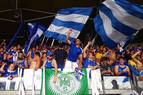 """جَماهير الرجاء وكروزيرو البرازيلي يحتفِلون بالذكرى الخامِسة لملحمة """"النسور"""""""