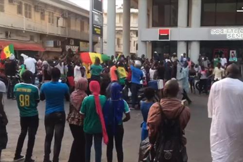 فرحة بالتأهل من قلب السنغال