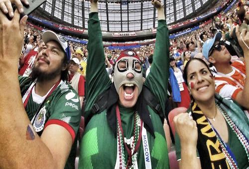 فرحة جماهير المكسيك بالفوز على ألمانيا تتسبب في هزة أرضية