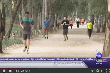 اقبال المغاربة على الرياضة في رمضان