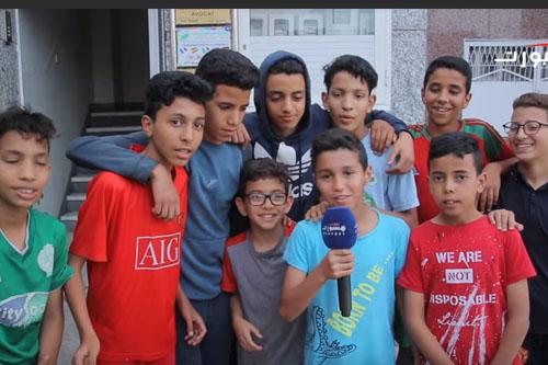 الشارع المغربي ولقاء الكوت ديفوار