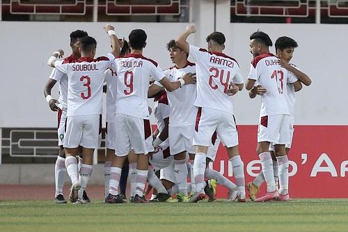 تشكيلة المنتخب المغربي للشباب أمام تونس
