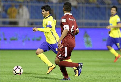 النصر السعودي يتعثر بالتعادل السلبي أمام الفيصلي