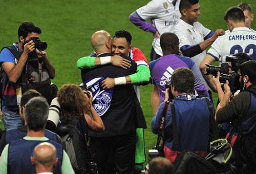 نافاس يحسم قراره بخصوص مستقبله مع ريال مدريد