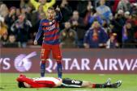 برشلونة يواجه بلباو للمرة الخامسة هذا الموسم