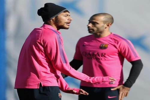 برشلونة يحدد مصير ماسكيرانو ونيمار