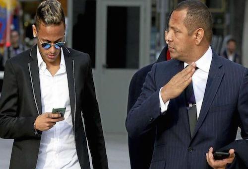 والد نيمار: من الممكن التفاوض على رحيل نجلي للريال