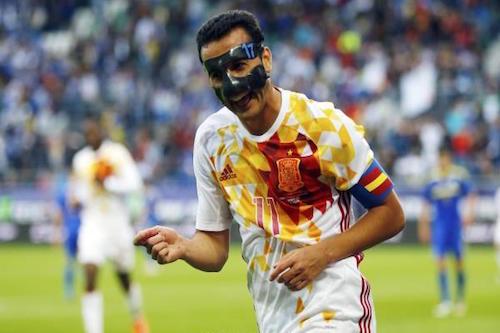 بيدرو يدعم خوانفران بعد هزيمة أتلتيكو مدريد