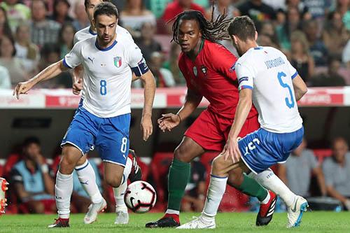 البرتغال تتعادل مع إيطاليا وتتأهل لنصف نهائي دوري الأمم الأوروبي