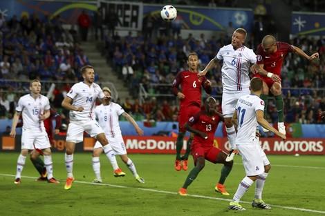 البرتغال تفشل في اجتياز عقبة إيسلندا بكأس الأمم الأوروبية