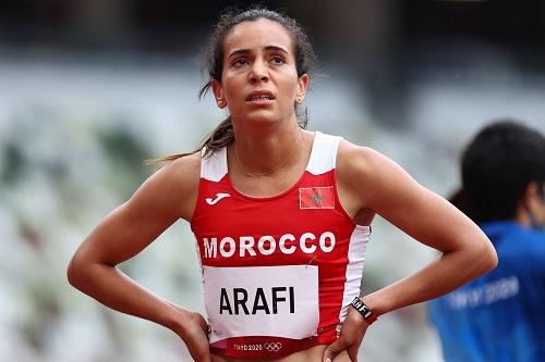 العرافي: أتمنى تمثيل القوى العربية بشكل جيد والتأهل لنهائي سباق 800 متر