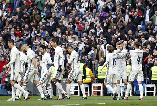 رقم قياسي يراود ريال مدريد أمام فياريال