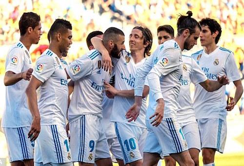 ريال مدريد بنصف قوته يسحق لاس بالماس بالثلاثة ويوجه إنذارا ليوفنتوس