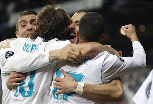 ريال مدريد يطيح ببايرن ميونخ ويتأهل للمرة الثالثة على التوالي إلى نهائي دوري الأبطال