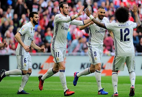 ريال مدريد يقهر بلباو في عقر داره ويعزز صدارته لليغا