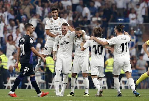 ريال مدريد يقسو على ليغانيس برباعية وينفرد بصدارة الدوري الإسباني مؤقتا