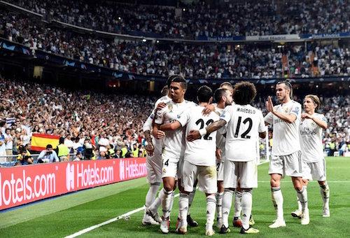 ريال مدريد يقفز لصدارة الدوري الإسباني مؤقتا بهدف إلكتروني أمام إسبانيول