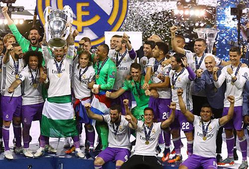 ريال مدريد يتصدر تصنيف اليويفا للعام الرابع على التوالي
