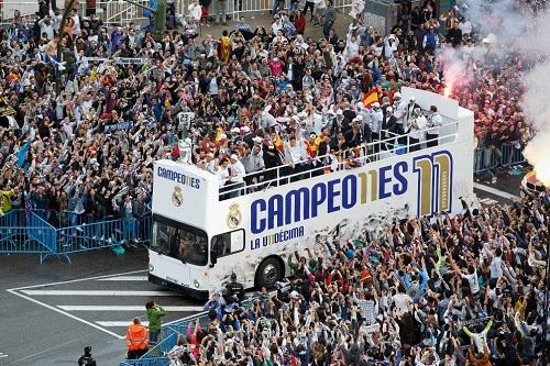 ريال مدريد يطالب جماهيره بعدم الذهاب إلى ثيبيليس في حالة التتويج بلقب الليغا