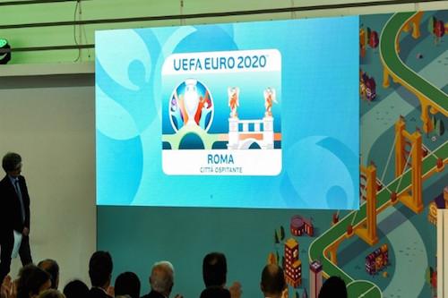 روما تكشف النقاب عن شعارها في يورو 2020