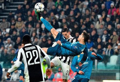 رونالدو يقود ريال مدريد لسحق يوفنتوس بثلاثية والاقتراب من نصف نهائي أبطال أوروبا