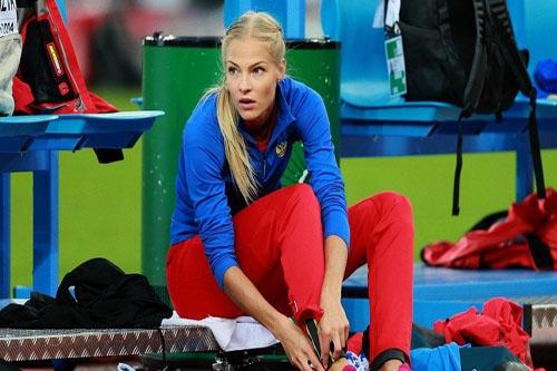 متسابقة وثب روسية تشارك في أولمبياد ريو