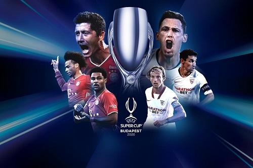 بايرن ميونخ يصارع إشبيلية على كأس السوبر الأوروبي وسط عودة الجماهير