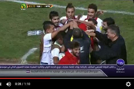تأهل تونس وإقصاء موريتانيا