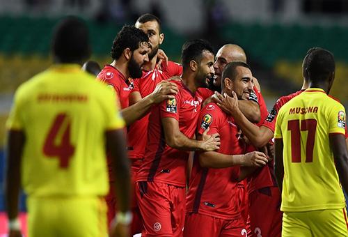 تونس تهزم زيمبابوي برباعية وتعبر لدور الثمانية بكأس الأمم الإفريقية