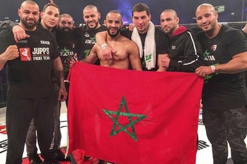 البطل المغربي عثمان زعيتر يستعد لمواجهة بتَحَد جديد بأبوظبي