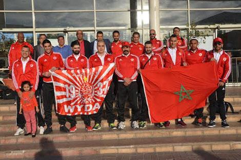 الوداد لكرة الماء رابعا في البطولة العربية للأندية