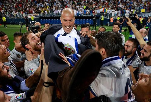 ريال مدريد بطلا لليغا